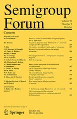 semigroup-forum